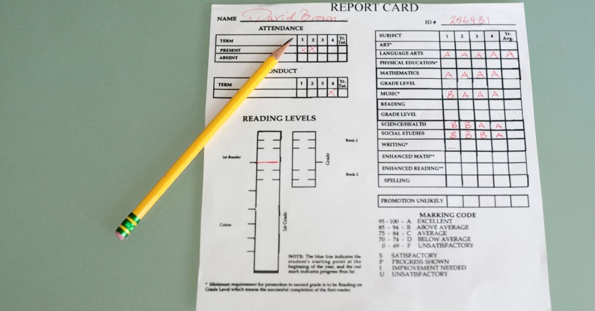 Reframing report cards